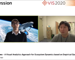 IEEE VIS2020 presentation, and our paper is accepted in IEEE TVCG